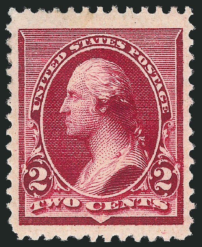 US Stamp Prices Scott Cat. 219D: 1890 2c Washington. Robert Siegel Auction Galleries, Mar 2013, Sale 1040, Lot 1462