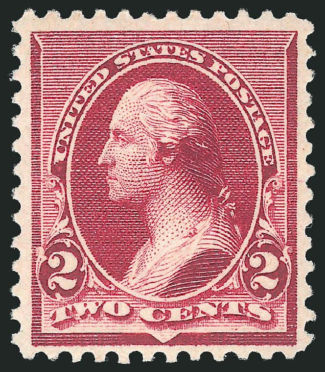 Values of US Stamp Scott Cat. 219D: 1890 2c Washington. Robert Siegel Auction Galleries, Dec 2014, Sale 1090, Lot 1373