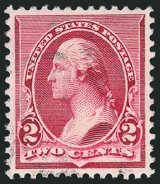 US Stamp Values Scott #219D - 2c 1890 Washington. Robert Siegel Auction Galleries, Nov 2012, Sale 1034, Lot 196