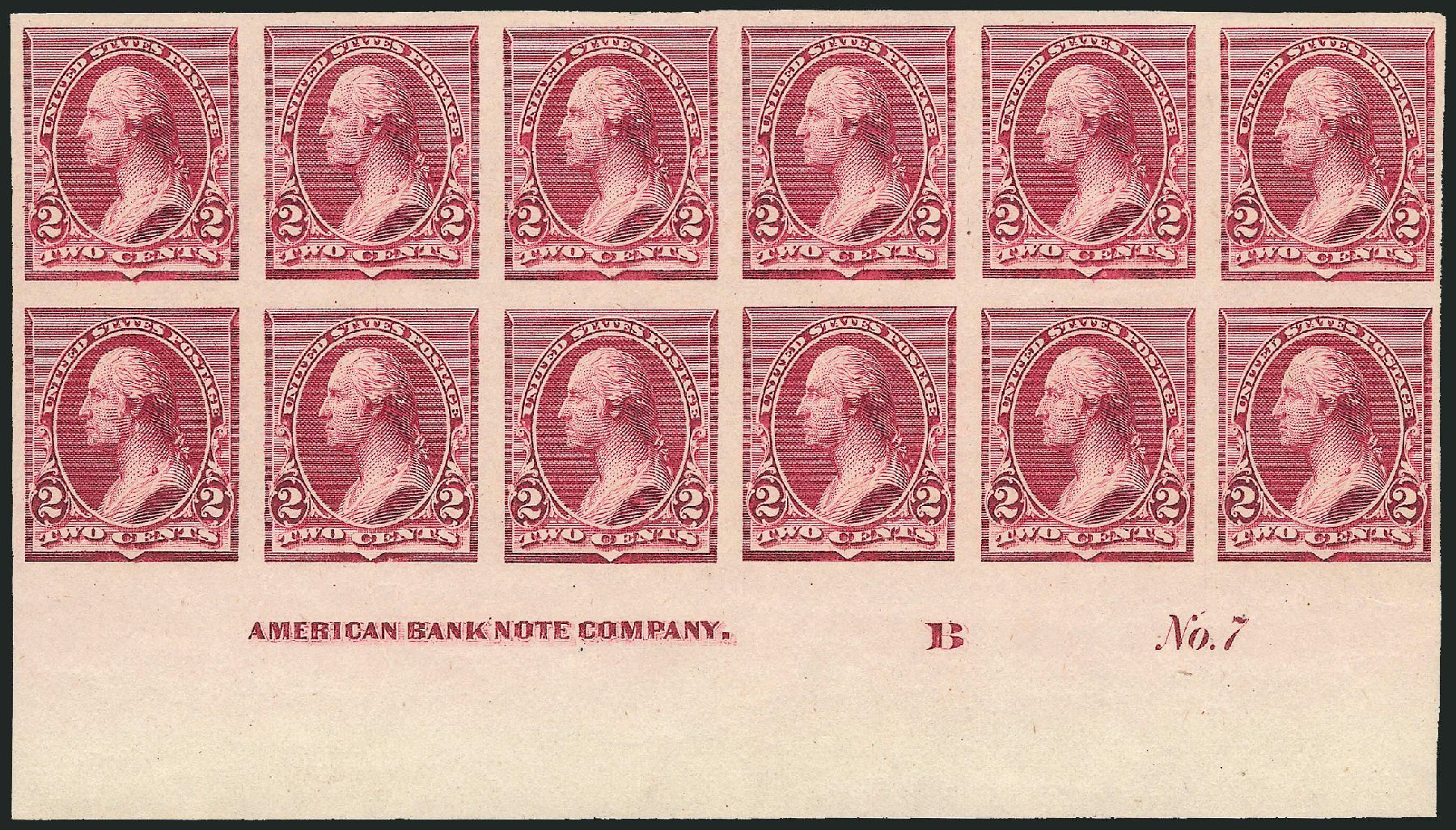 Costs of US Stamps Scott Catalogue # 219D: 2c 1890 Washington. Robert Siegel Auction Galleries, Nov 2013, Sale 1057, Lot 806