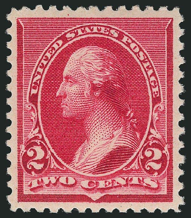 Values of US Stamps Scott Catalog 220 - 1890 2c Washington. Robert Siegel Auction Galleries, Nov 2013, Sale 1057, Lot 808