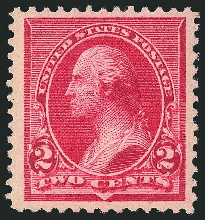 US Stamps Prices Scott Cat. 220 - 2c 1890 Washington. Robert Siegel Auction Galleries, Dec 2013, Sale 1062, Lot 411