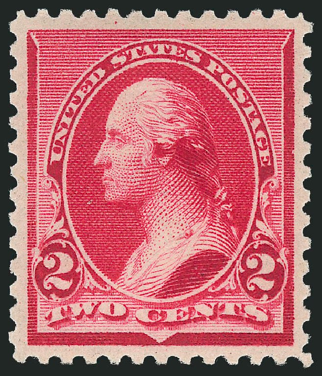 US Stamps Values Scott # 220 - 1890 2c Washington. Robert Siegel Auction Galleries, Feb 2015, Sale 1092, Lot 1161