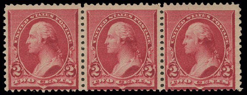 Price of US Stamps Scott Catalogue 220 - 2c 1890 Washington. H.R. Harmer, May 2014, Sale 3005, Lot 1155