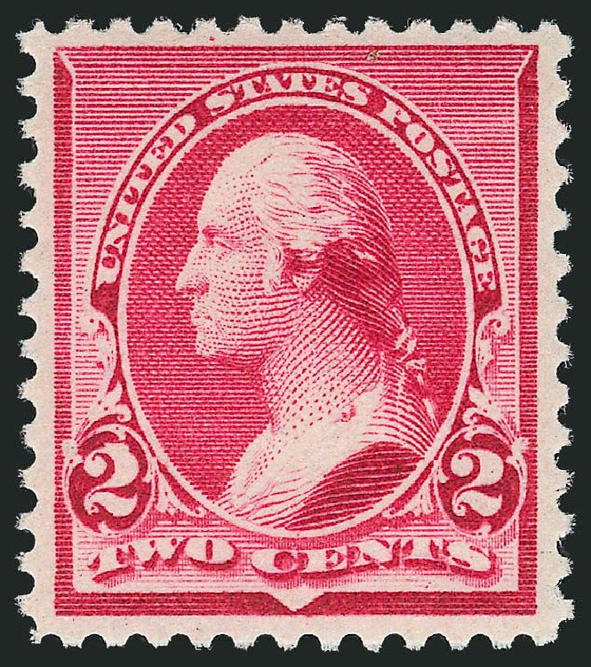Costs of US Stamps Scott Catalog #220 - 1890 2c Washington. Robert Siegel Auction Galleries, Mar 2013, Sale 1040, Lot 1465