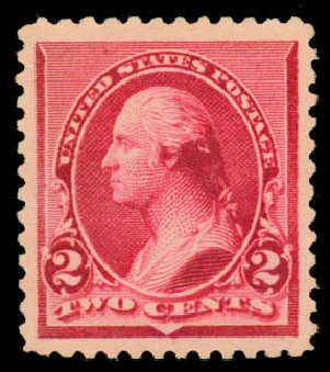 Prices of US Stamp Scott Catalog #220: 1890 2c Washington. Daniel Kelleher Auctions, May 2015, Sale 669, Lot 2702