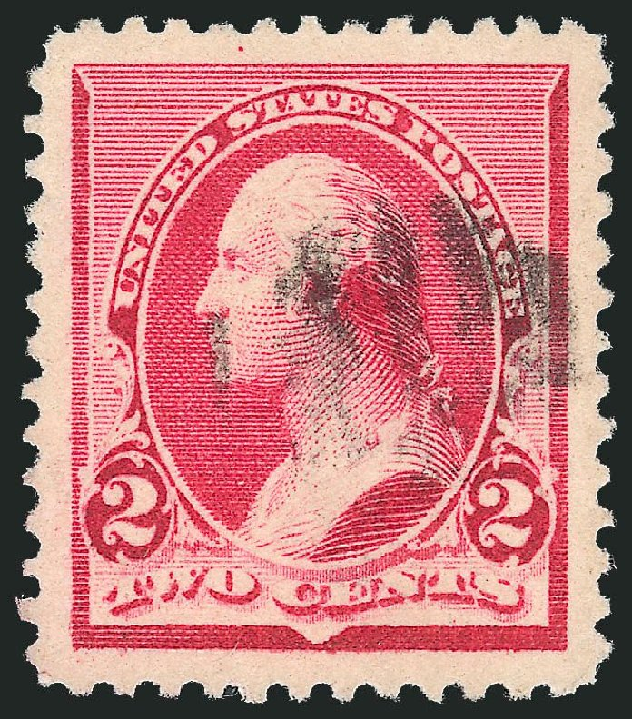 US Stamp Price Scott Catalog #220 - 1890 2c Washington. Robert Siegel Auction Galleries, Nov 2014, Sale 1084, Lot 3502
