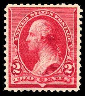 Price of US Stamps Scott Catalog # 220: 2c 1890 Washington. Daniel Kelleher Auctions, Sep 2013, Sale 639, Lot 3303