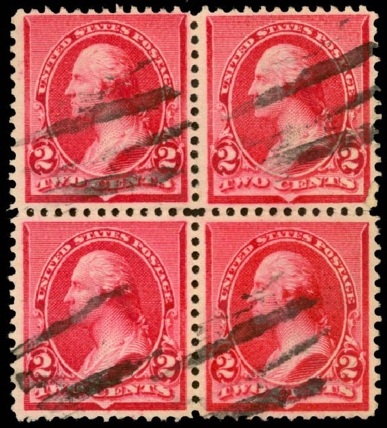 Cost of US Stamp Scott Catalog # 220 - 1890 2c Washington. Daniel Kelleher Auctions, May 2015, Sale 669, Lot 2703