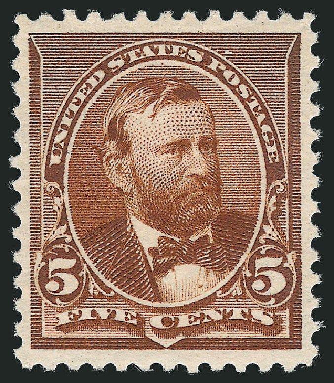 US Stamp Price Scott Catalog # 223: 1890 5c Grant. Robert Siegel Auction Galleries, Dec 2012, Sale 1037, Lot 1777