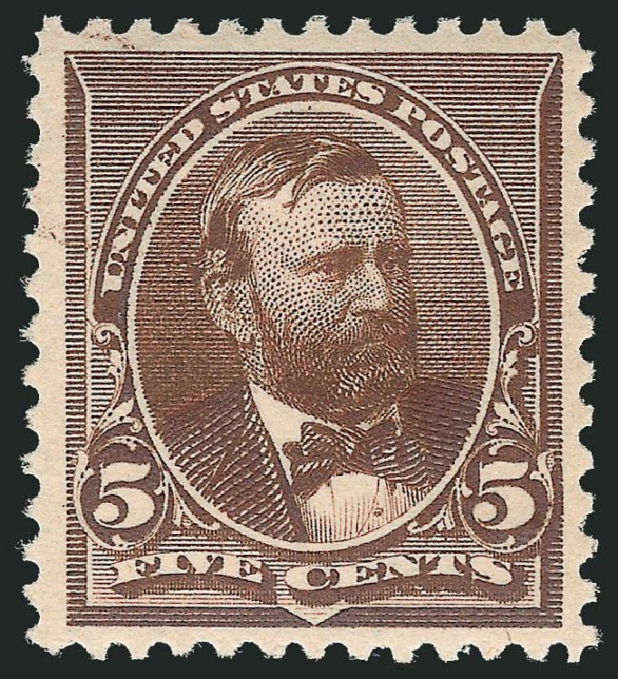 Cost of US Stamps Scott Catalog # 223 - 1890 5c Grant. Robert Siegel Auction Galleries, May 2013, Sale 1044, Lot 180