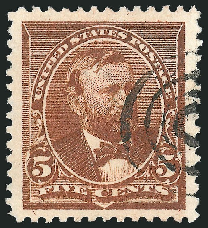 Prices of US Stamps Scott Catalog # 223 - 5c 1890 Grant. Robert Siegel Auction Galleries, Nov 2013, Sale 1061, Lot 3651