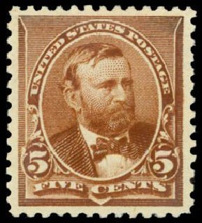 Prices of US Stamps Scott Catalog #223: 5c 1890 Grant. Daniel Kelleher Auctions, Sep 2014, Sale 655, Lot 303