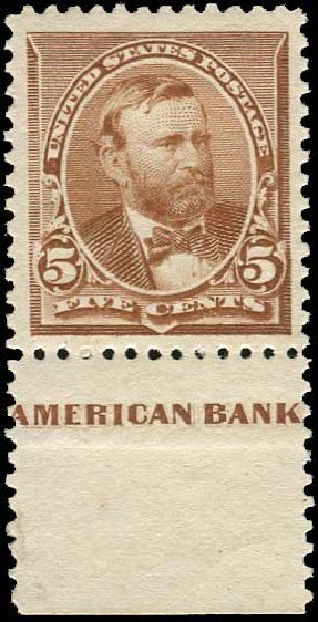 Prices of US Stamps Scott Catalog # 223 - 5c 1890 Grant. Regency-Superior, Nov 2014, Sale 108, Lot 413
