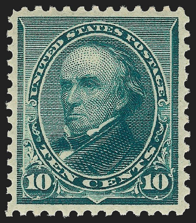 Price of US Stamps Scott Cat. #226 - 10c 1890 Webster. Robert Siegel Auction Galleries, Jul 2015, Sale 1107, Lot 298