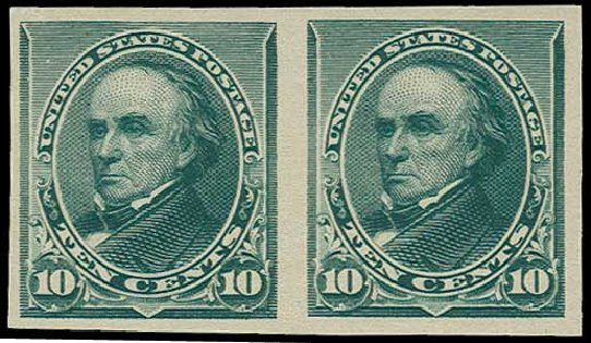 US Stamps Values Scott #226: 10c 1890 Webster. H.R. Harmer, Jun 2015, Sale 3007, Lot 3234
