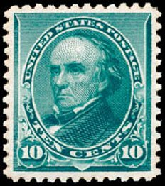 Prices of US Stamp Scott Cat. #226 - 1890 10c Webster. Schuyler J. Rumsey Philatelic Auctions, Apr 2015, Sale 60, Lot 2203