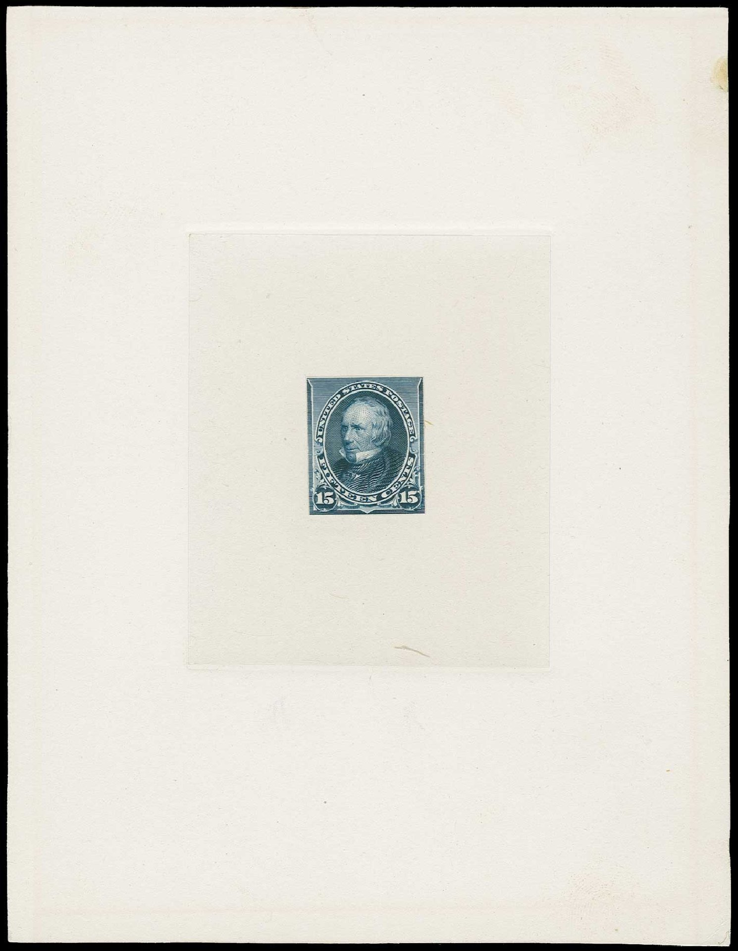 Cost of US Stamps Scott Cat. 227 - 15c 1890 Clay. H.R. Harmer, Jun 2015, Sale 3007, Lot 3047