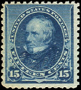 Value of US Stamps Scott Catalog 227: 15c 1890 Clay. Regency-Superior, Jan 2015, Sale 109, Lot 877