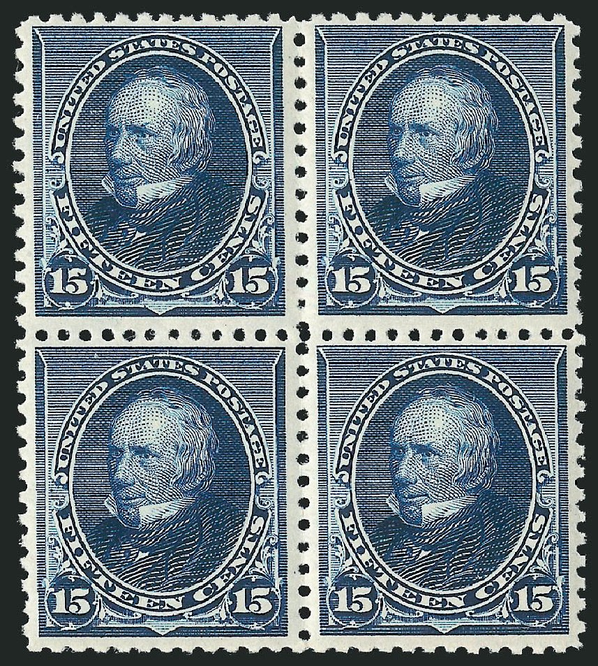 Value of US Stamps Scott Catalogue #227: 15c 1890 Clay. Robert Siegel Auction Galleries, Apr 2015, Sale 1096, Lot 391