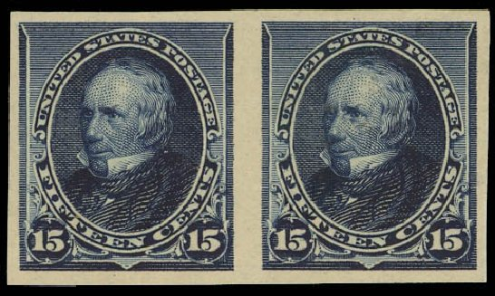 US Stamps Values Scott Catalogue 227 - 15c 1890 Clay. Daniel Kelleher Auctions, Jan 2015, Sale 663, Lot 1444