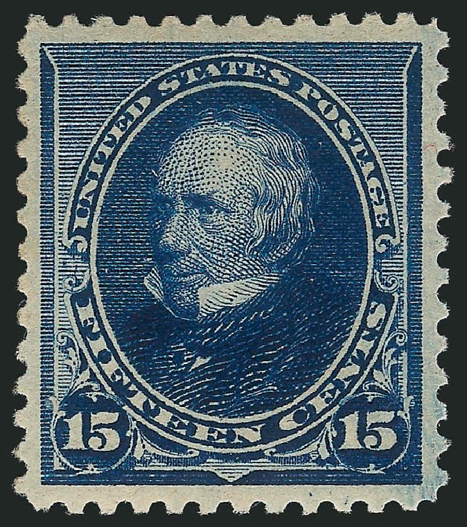US Stamp Price Scott # 227 - 15c 1890 Clay. Robert Siegel Auction Galleries, Feb 2015, Sale 1092, Lot 1165