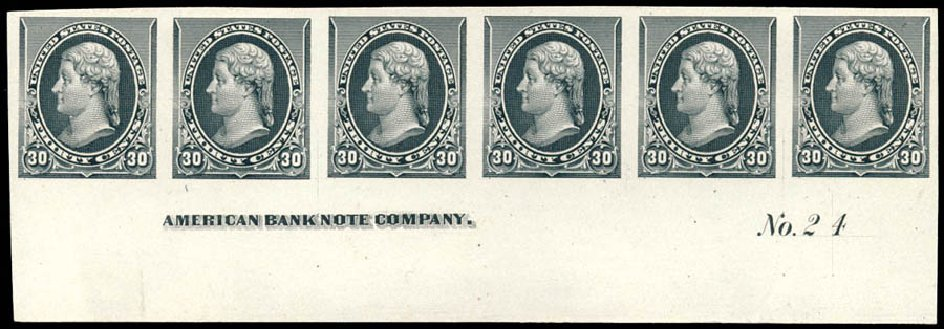 US Stamps Prices Scott #228 - 30c 1890 Jefferson. Schuyler J. Rumsey Philatelic Auctions, Apr 2015, Sale 60, Lot 2729