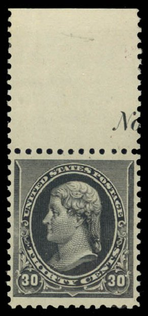 US Stamp Price Scott Catalogue 228 - 30c 1890 Jefferson. Daniel Kelleher Auctions, May 2015, Sale 669, Lot 2710