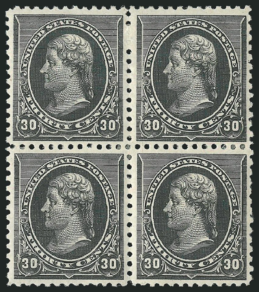 US Stamps Price Scott Catalogue # 228: 30c 1890 Jefferson. Robert Siegel Auction Galleries, Apr 2015, Sale 1096, Lot 393