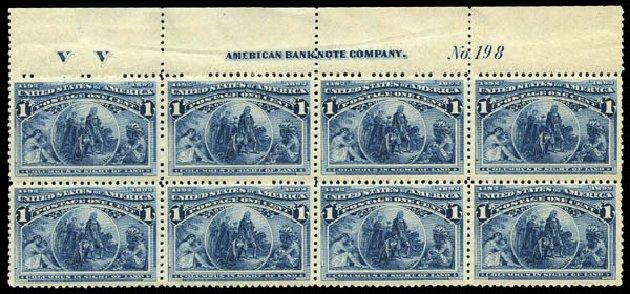 Prices of US Stamps Scott Cat. #230: 1893 1c Columbian Exposition. Matthew Bennett International, May 2014, Sale 350, Lot 334