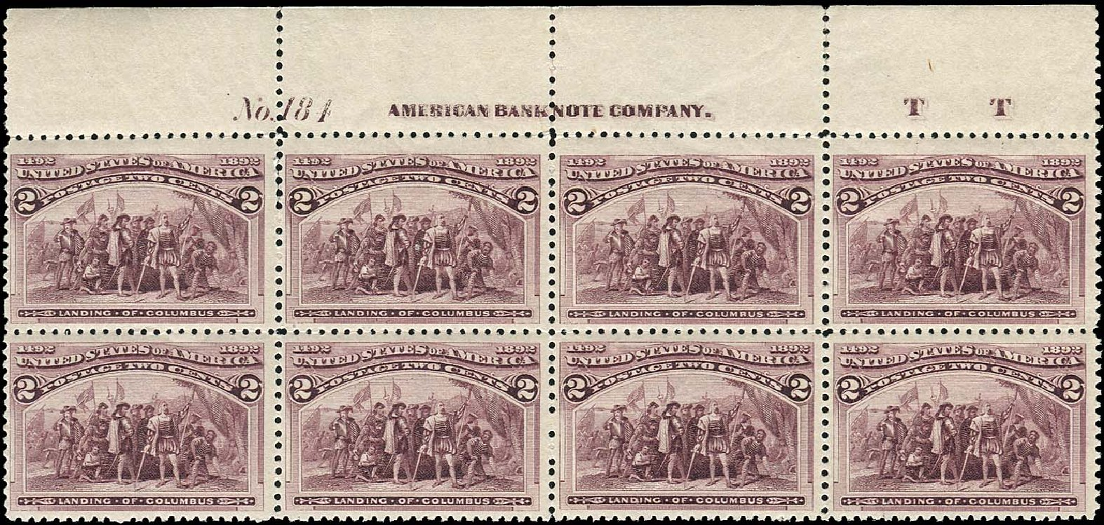 Costs of US Stamp Scott Catalogue #231: 2c 1893 Columbian Exposition. Regency-Superior, Jan 2015, Sale 109, Lot 1601