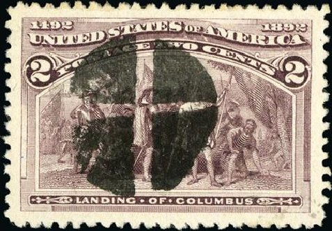Value of US Stamp Scott Catalog 231: 2c 1893 Columbian Exposition. Spink Shreves Galleries, Jan 2015, Sale 150, Lot 115