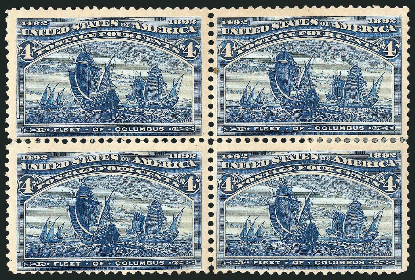Costs of US Stamp Scott Cat. #233 - 4c 1893 Columbian Exposition. Robert Siegel Auction Galleries, Apr 2015, Sale 1096, Lot 409