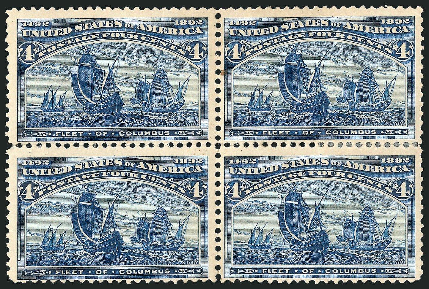 Costs of US Stamp Scott Cat. #233 - 4c 1893 Columbian Exposition. Robert Siegel Auction Galleries, Apr 2015, Sale 1096, Lot 409