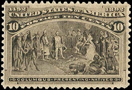 Prices of US Stamps Scott Catalogue 237: 10c 1893 Columbian Exposition. Regency-Superior, Aug 2015, Sale 112, Lot 417