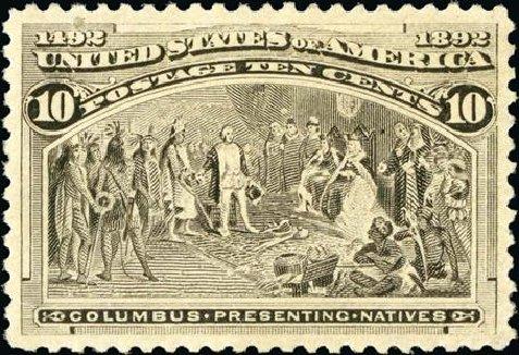US Stamp Value Scott Catalog #237: 10c 1893 Columbian Exposition. Spink Shreves Galleries, Jan 2015, Sale 150, Lot 119
