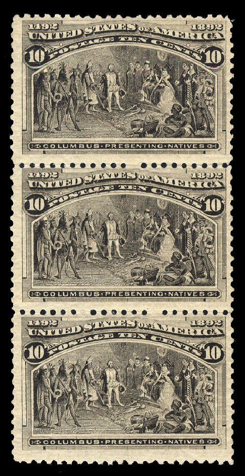 US Stamps Price Scott Catalog #237 - 10c 1893 Columbian Exposition. Cherrystone Auctions, Mar 2015, Sale 201503, Lot 25