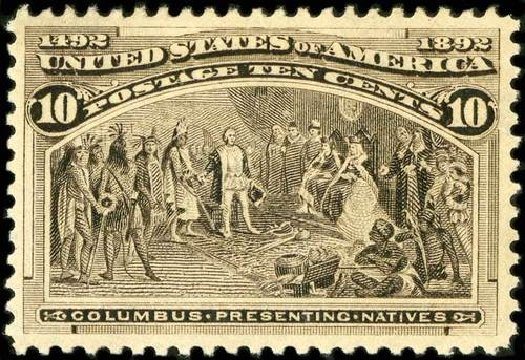 Price of US Stamps Scott Cat. #237: 10c 1893 Columbian Exposition. Spink Shreves Galleries, Jul 2015, Sale 151, Lot 185