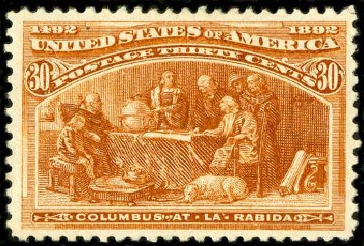 US Stamps Prices Scott Catalogue # 239 - 1893 30c Columbian Exposition. Spink Shreves Galleries, Jul 2015, Sale 151, Lot 186