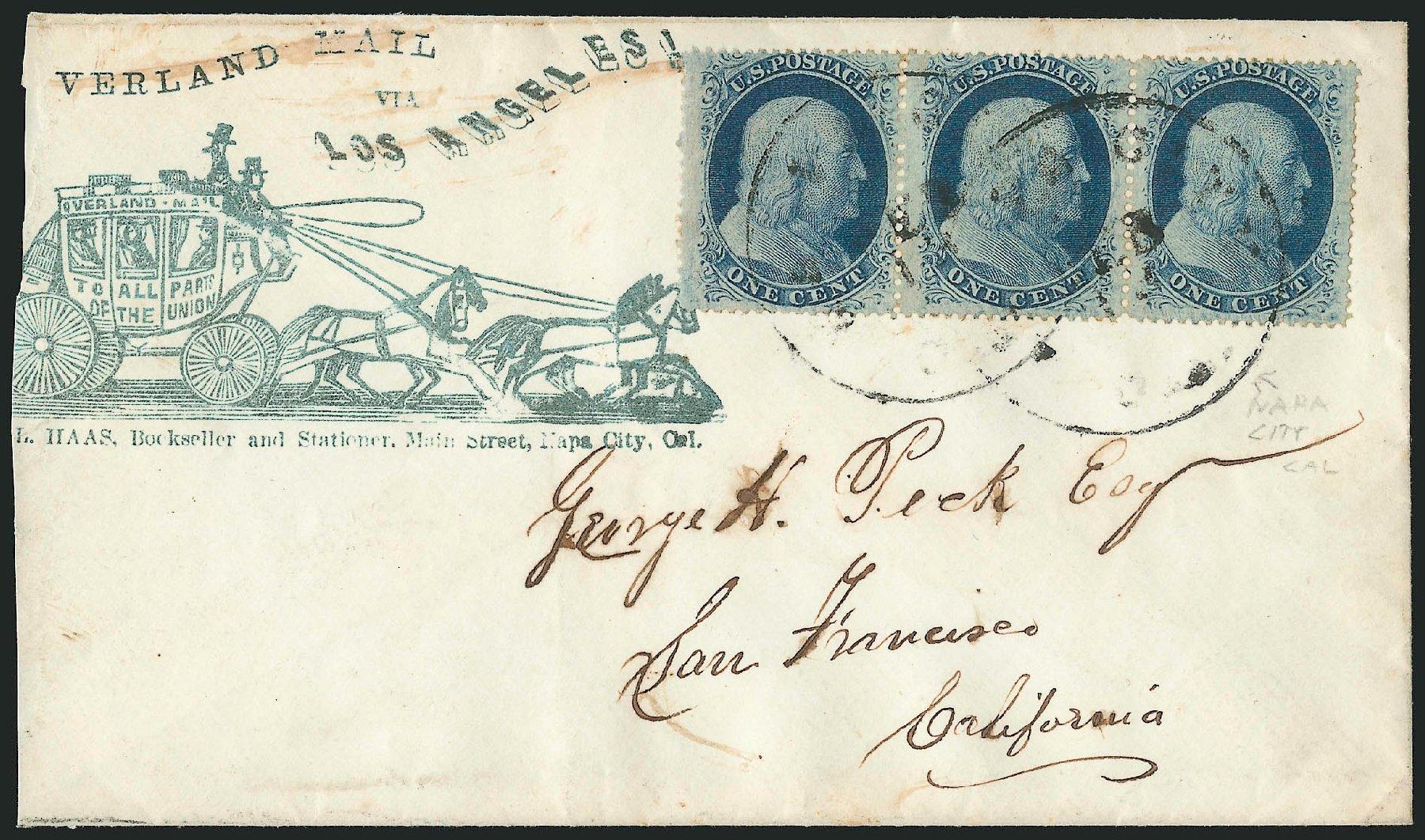 Price of US Stamps Scott Catalog #24: 1857 1c Franklin. Robert Siegel Auction Galleries, Jun 2015, Sale 1105, Lot 2547