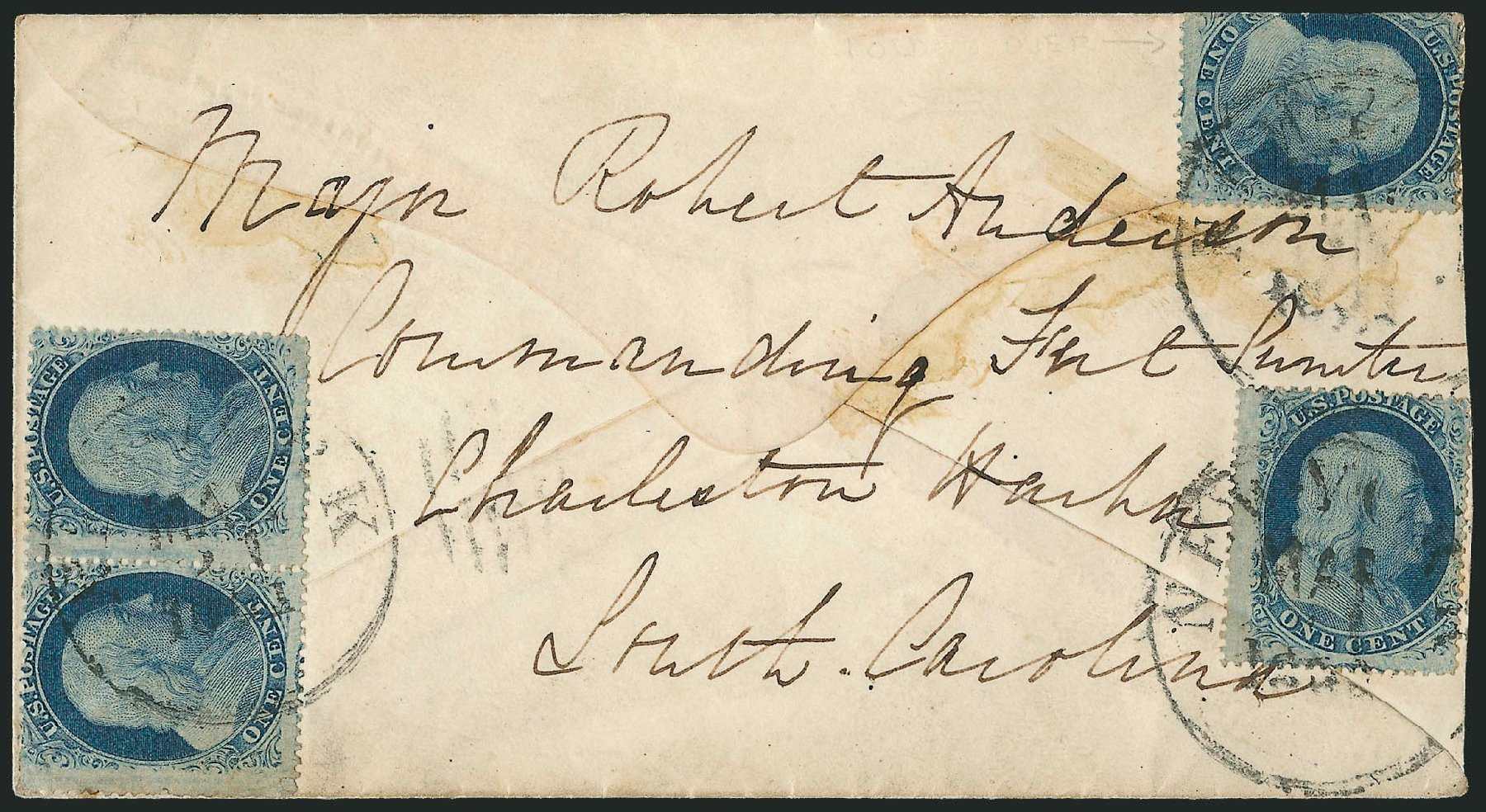Value of US Stamp Scott #24 - 1c 1857 Franklin. Robert Siegel Auction Galleries, Jun 2015, Sale 1105, Lot 2557