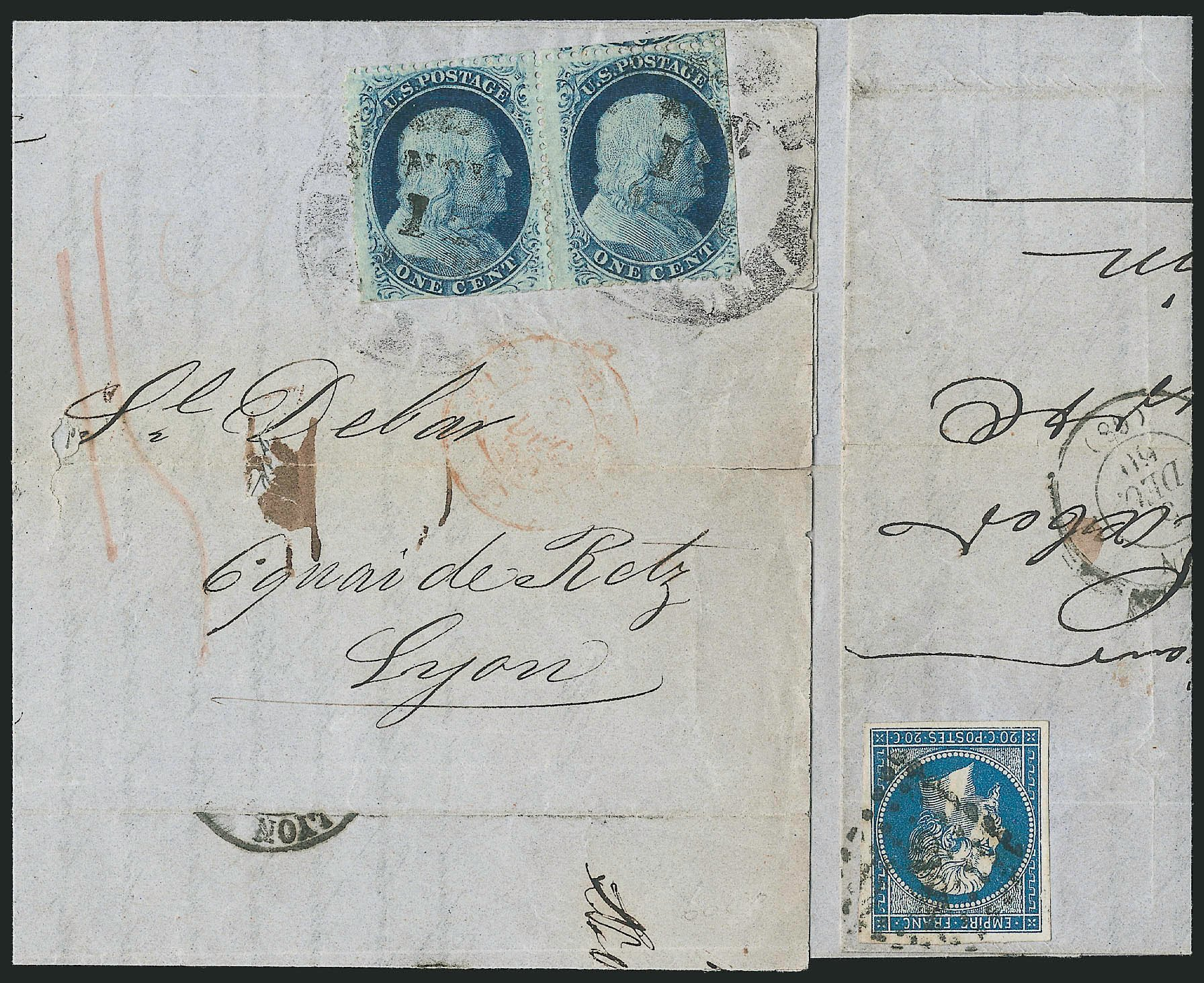 Costs of US Stamps Scott Catalog # 24: 1c 1857 Franklin. Robert Siegel Auction Galleries, Jun 2015, Sale 1105, Lot 2551