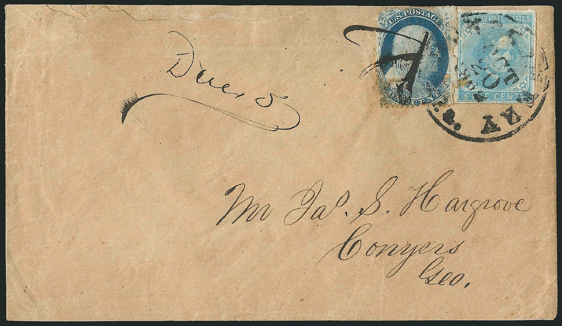 US Stamps Prices Scott Cat. 24 - 1c 1857 Franklin. Robert Siegel Auction Galleries, Jun 2015, Sale 1105, Lot 2581