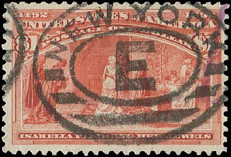 Costs of US Stamps Scott 241: 1893 US$1.00 Columbian Exposition. Regency-Superior, Aug 2015, Sale 112, Lot 452