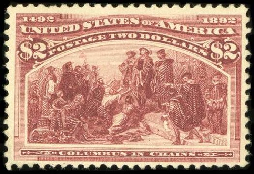 Costs of US Stamp Scott # 242 - US$2.00 1893 Columbian Exposition. Spink Shreves Galleries, Jul 2015, Sale 151, Lot 190