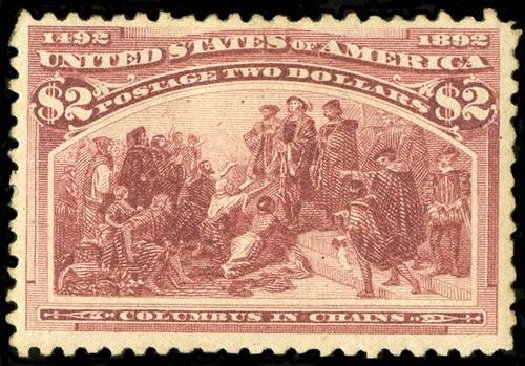 Price of US Stamp Scott #242 - 1893 US$2.00 Columbian Exposition. Spink Shreves Galleries, Jul 2015, Sale 151, Lot 193