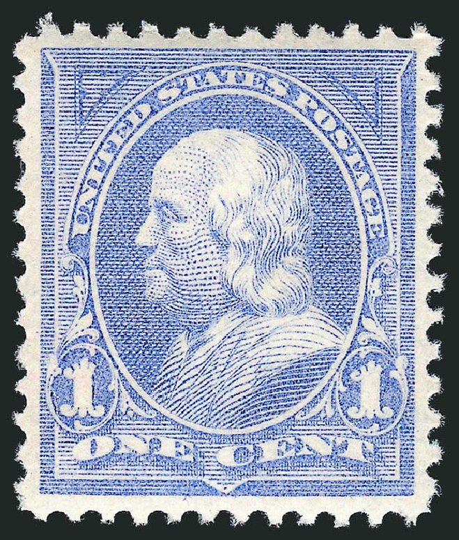 US Stamps Value Scott Catalogue # 246: 1c 1894 Franklin. Robert Siegel Auction Galleries, May 2013, Sale 1044, Lot 199