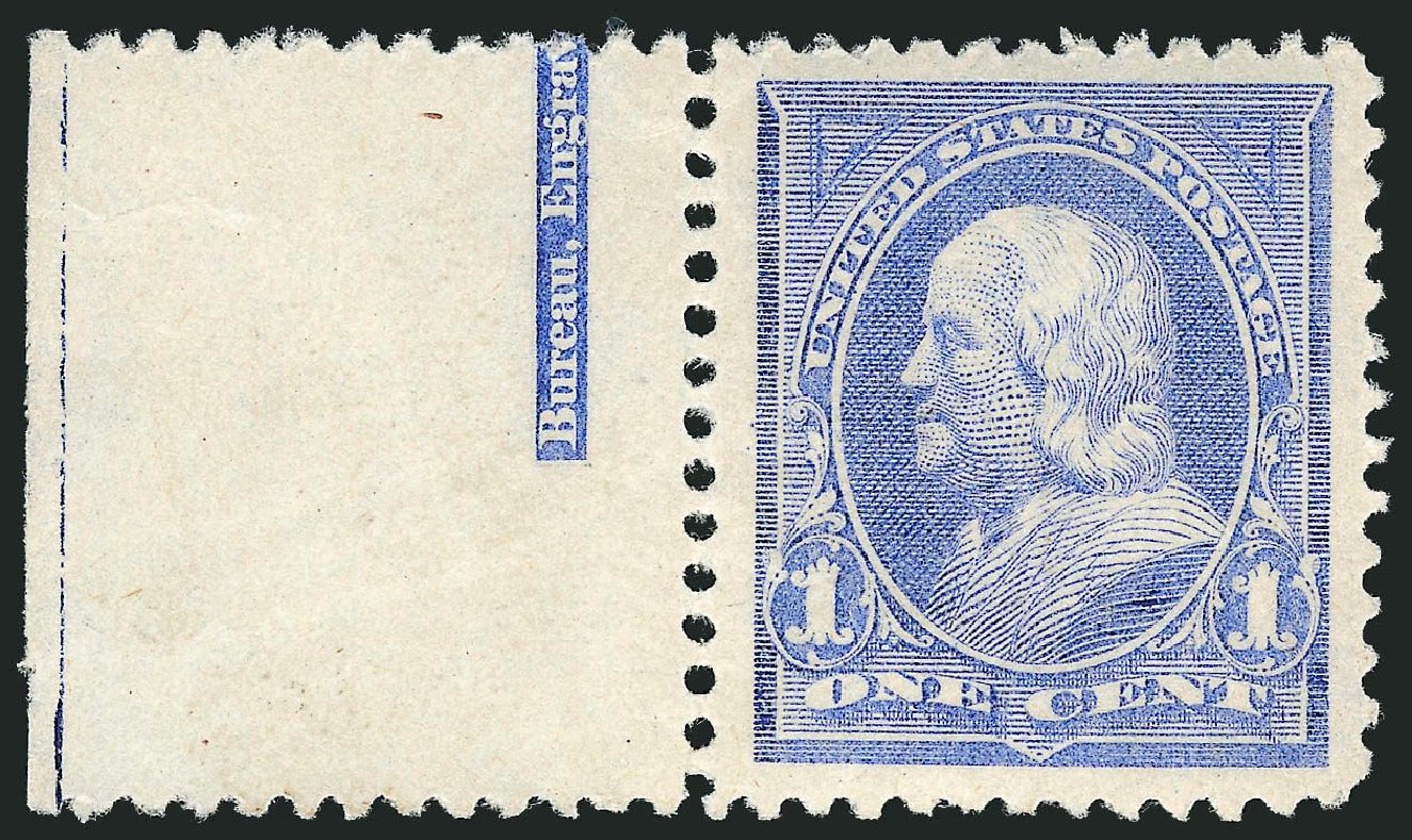 US Stamp Price Scott Catalog 246 - 1c 1894 Franklin. Robert Siegel Auction Galleries, Dec 2014, Sale 1090, Lot 1402