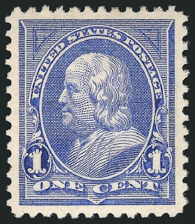 US Stamps Value Scott Catalogue #246 - 1894 1c Franklin. Robert Siegel Auction Galleries, Dec 2014, Sale 1090, Lot 1403