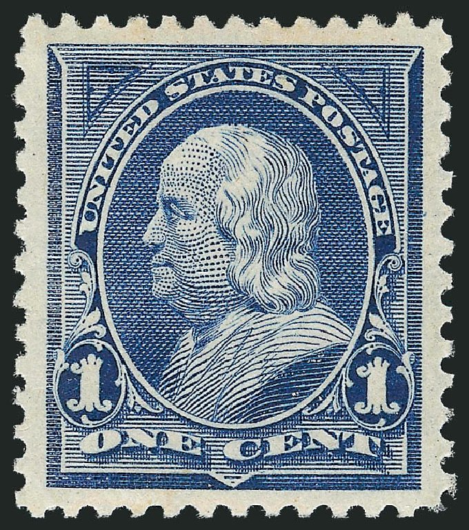 Values of US Stamp Scott #247: 1894 1c Franklin. Robert Siegel Auction Galleries, Nov 2012, Sale 1034, Lot 227